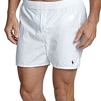 Polo Ralph Lauren Woven Boxers 3-Pack - White