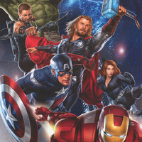 The Avengers Marvel Comics Poster 22x34