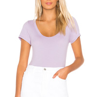 Velvet by Graham & Spencer Manuela Tee in Lavender