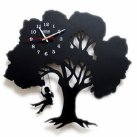 Tree Wall Clock-Where Childhood Memory Gets Inspired