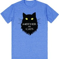 Mother of Cats. T-shirt for Cat Lovers