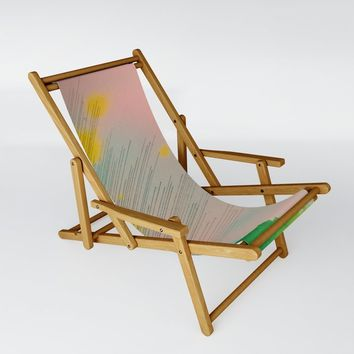 The Burst Sling Chair by duckyb