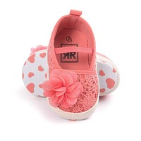 ROMIRUS All Kinds Of New Summer Baby Shoes Newborn Girls Princess Kids Pram Crib Bebe Soft Bottom Baby Girl Shoes First Walkers