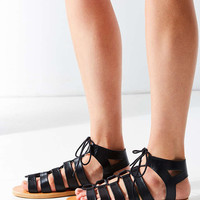 Honey Leather Gladiator Sandal - Urban Outfitters