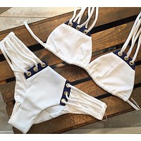 Beach Hot Swimsuit Summer New Arrival Swimwear Sexy Patchwork Bikini [520204353551]
