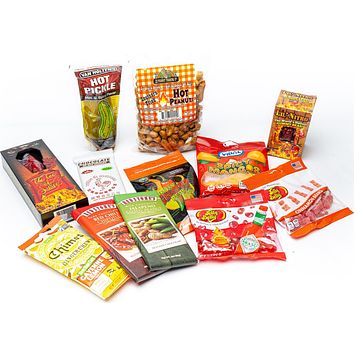 Hot & Spicy Candy Sampler Gift Box