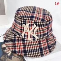 NY New fashion embroidery letter cap hat fisherman's hat 1#