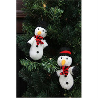 2 Christmas Ornaments - Knit