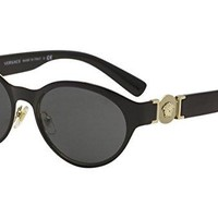 Versace VE2179 129187 (Black - Gold with Grey lenses)