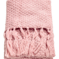 Moss-knit Throw - from H&M