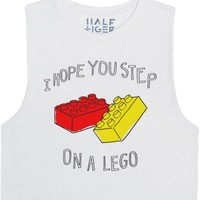 Step on a Lego-Unisex Snow T-Shirt