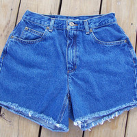 High Waisted Shorts Size 8 by DenimAndStuds on Etsy