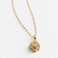 five and two Taylor Rose Necklace | Urban Outfitters