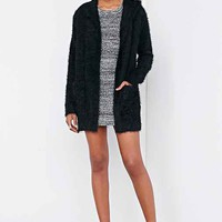 Love Madly Cozy Hooded Cozy Cardigan Sweater-