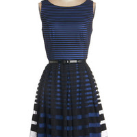 ModCloth Sleeveless A-line Reservations for Romance Dress