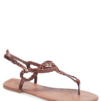 Braid For You T-Strap Sandals | Wet Seal