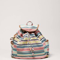 AEO Printed Canvas Backpack | American Eagle Outfitters