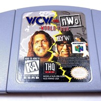 WCW vs. NWO: World Tour Wrestling (Nintendo 64, 1997) GAME ONLY Works Perfectly