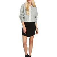 Bcbgeneration Cropped Cocoon Hoodie
