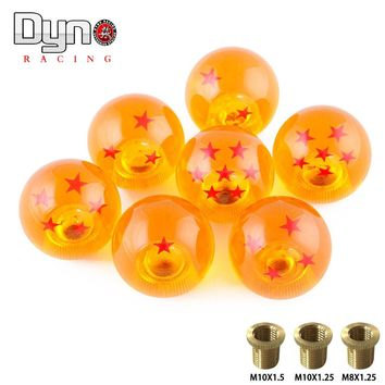 Universal auto shift knob RARE DRAGONBALL Z DRAGON BALL 54mm Diameter gear SHIFT KNOB 1-7 STARS