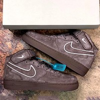 Nike Air Force 1 Retro High-Top Casual Sneakers Shoes