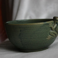 Vintage Japanese Tea Cup with Green Frog