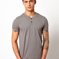 ASOS T-Shirt With Y- Neck