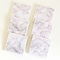 Marble Coasters - Ceramic Coasters, Tile Coasters, Drink Coasters, Monochrome, Marble Print