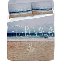 DENY Designs Home Accessories   Leah Flores Lets Run Away III Sheet Set