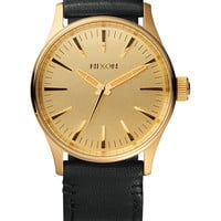 Sentry 38 Leather | Watches | Nixon Watches and Premium Accessories