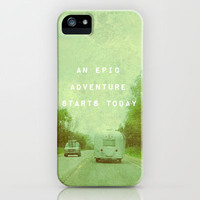 An Epic Adventure Awaits iPhone & iPod Case by Olivia Joy StClaire