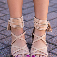 All For You Sandals, Tan