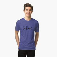 Be Kind Typography Kindness Quote by blueskywhimsy