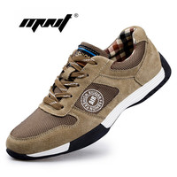 Genuine Leather with Mesh Men Casual Shoes New Arrival Leather Men Shoes High Quality Outdoor Shoes Men Zapatos Hombre