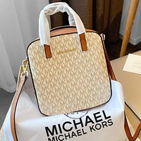 MK 2020 new low-key and independent female bag beige