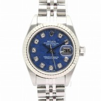 ROLEX Datejust Watch Stainless Steel Automatic Blue 79174G/Y 0370