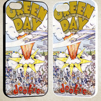 Green Day Dookie Design F0453 iPhone 4S 5S 5C 6 6Plus, iPod 4 5, LG G2 G3, Sony Z2 Case