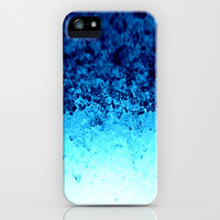 Blue Crystal Ombre iPhone & iPod Case by 2sweet4words Designs | Society6