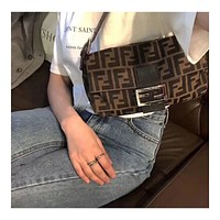 Fendi FF Fashion Underarm Bag Retro Medieval Women's Bag Shoulder Bag