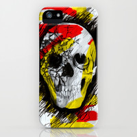 Graff ic Skull iPhone & iPod Case by Kristy Patterson Design