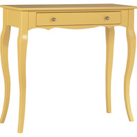 Jenna Console, Yellow, Console Table