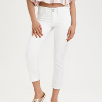 AE Artist® Crop Jean, Fresh White