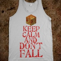 minecraft keep calm and dont fall