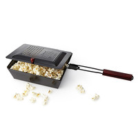 Outdoor Popcorn Popper | campfire cooking