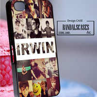 Rc812Y14_Ashton Irwin,5 seconds of summer - Accessories iPhone - design print for iPhone 5/5S - White Case - Material Hard Plastic (PC)