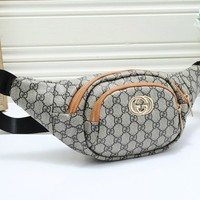 Gucci Trendy simple versatile printed waist bag chest bag 2#
