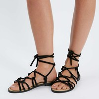 FUNFAIR Knotted Sandals - Sale & Offers