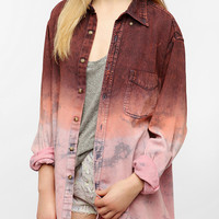 Urban Outfitters - Urban Renewal Dip-Dyed Denim Shirt