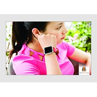 SimplyASP Tech Apple Watch Case - Crystal Clear Premium 42mm Case