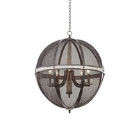 Kalco Coronado 8 Light Oval Chandelier